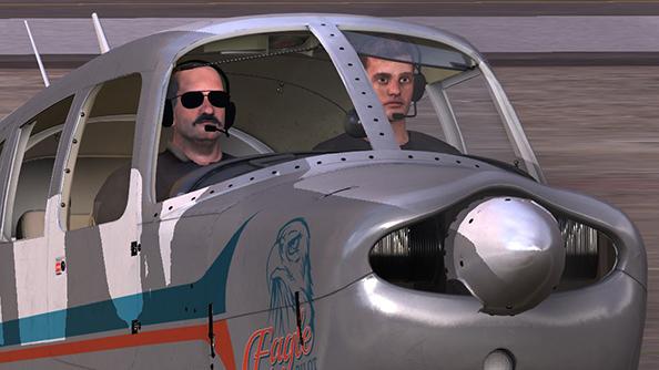 Dovetail Flight School smile