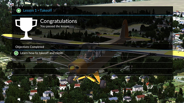 Dovetail Flight School complete