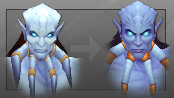 World of Warcraft's art director unveils Draenei 2.0