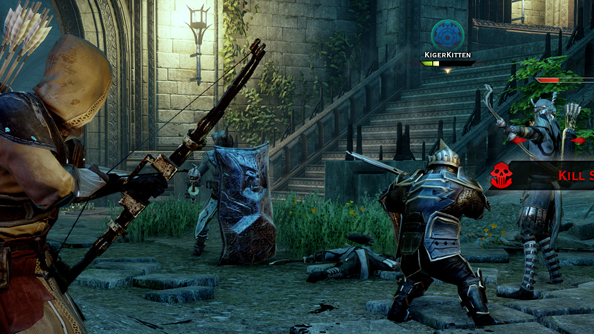 Dragon Age: Inquisition has a four-player co-op dungeon-crawling mode