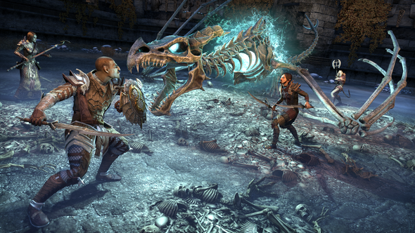 You can now go to The Elder Scrolls Online's dragon graveyard