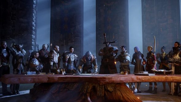 Dragon Age: the Inquisition of the title.