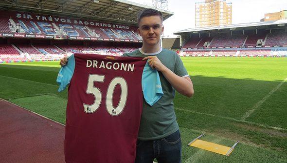 West Ham's eSports signing Dragonn