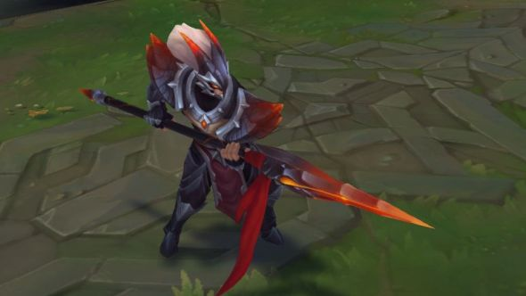 Dragonslayer Xin Zhao in-game