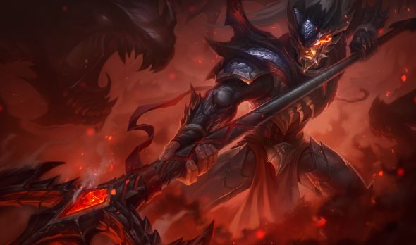 Dragon Slayer Xin Zhao splash art