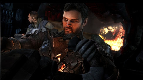Tiny Dead Space 3 screenshots encourage squinting, questions