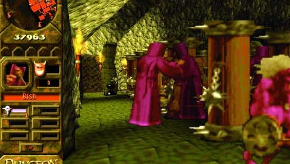 Dungeon Keeper: no longer handsome, but never overthrown.