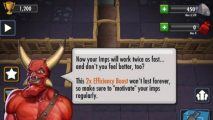 The new Dungeon Keeper is exclusive to iOS and Android. Thankfully.