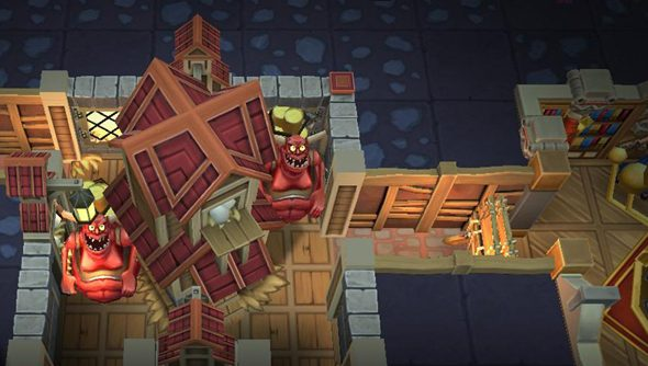 Dungeon Keeper, as designed by Mythic.