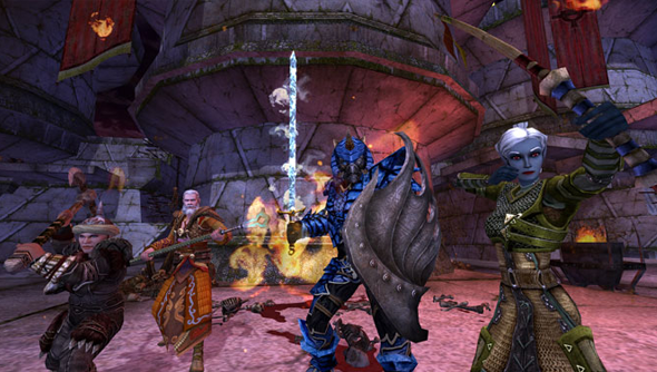 dungeons and dragons online update 23 turbine studios