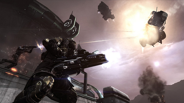 Dust 514 and EVE Online servers linked from today, PS3 shooter and PC MMO share one universe