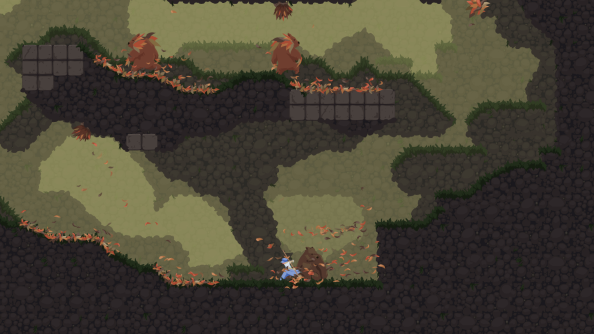 Dustforce DX update tidies up levels to make it easier for new players