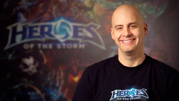 Dustin Browder Heroes of the Storm