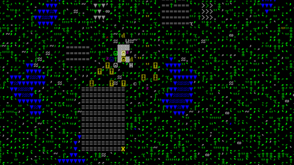 Dwarf Fortress: like reading the Matrix, diehards say.