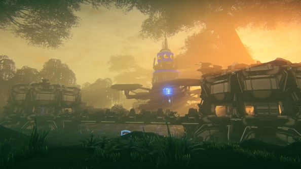 Planetside 2 Hossin trailer shows off new swamp-like continent in action