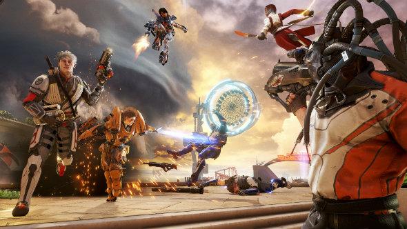Lawbreakers Unreal Engine 4