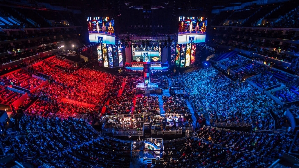 Vegas is looking to start taking bets on eSports