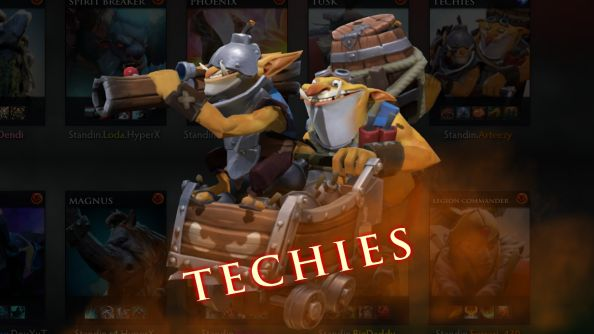 Valve debut infamous cult hero Techies at the Dota 2 International