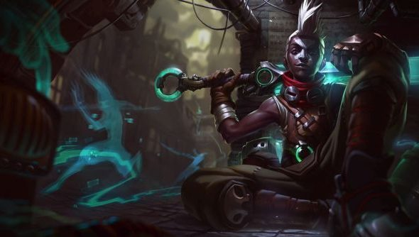 """Ekko splash art"""