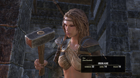 "In The Elder Scrolls Online, crafted gear will be ""slightly better"" than its found equivalent"