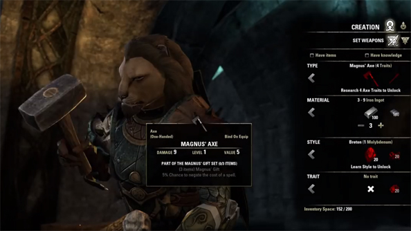 Hammerfell: here's Elder Scrolls Online's crafting system explained by its makers