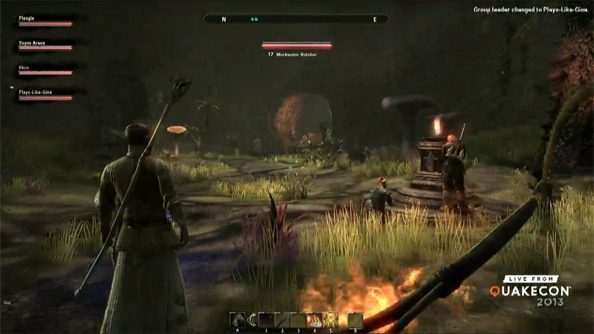 Elder Scrolls Online first-person camera demoed at length at QuakeCon