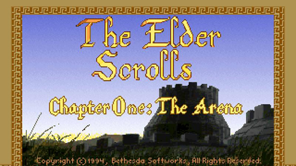The Elder Scrolls: Arena was originally intended to be just that, but broke out of its stadium borders.