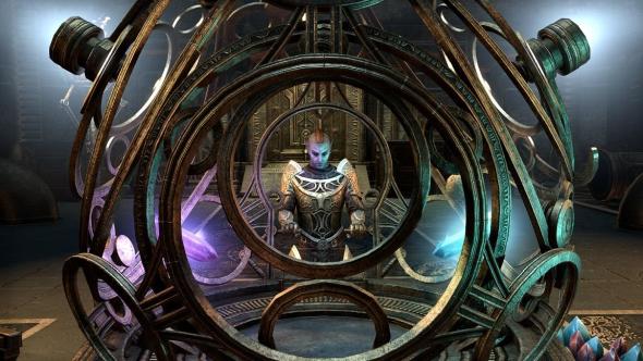Elder Scrolls Online Clockwork City globe