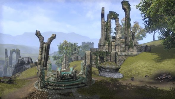 Cyrodiil will be The Elder Scrolls Online's PvP map.