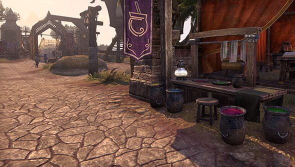 The Elder Scrolls Online: now dotted with pots of pink.