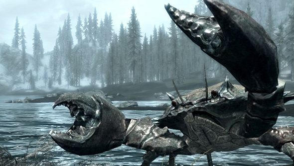 These fellas are not nearly as aggressive in ESO as they were in Oblivion.