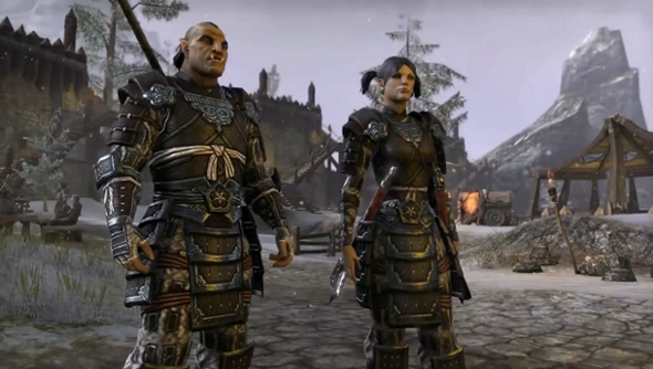 Just some of the population of The Elder Scrolls Online.