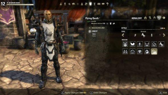 The Elder Scrolls Online: bards in tabards.