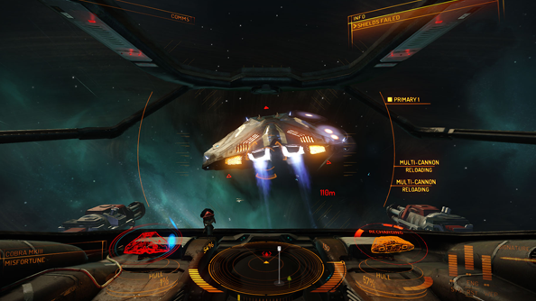 Elite: Dangerous footage shows off how to use heat to burn your enemies