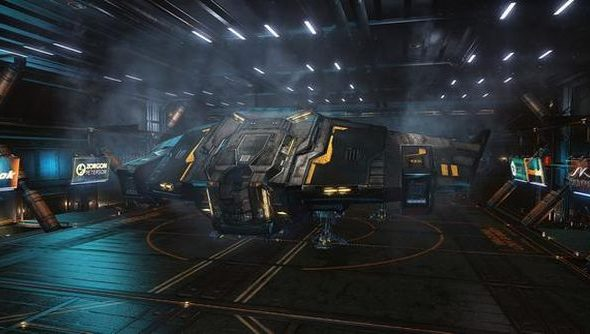 This Elite: Dangerous screenshot is not 4K. It is 594x334. Sorry.