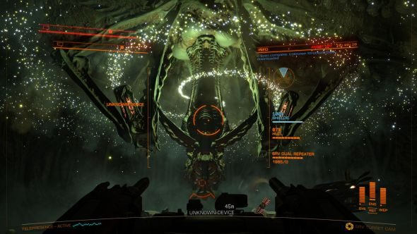 Elite: Dangerous alien base thargoids