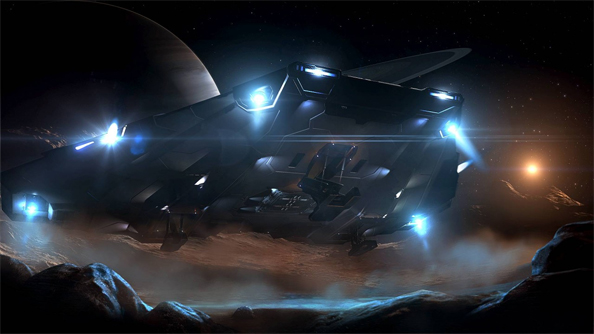 Elite Dangerous: Horizons series of expansions finally lets you land on planets