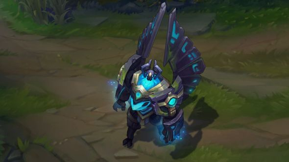 Enchanted Galio in-game
