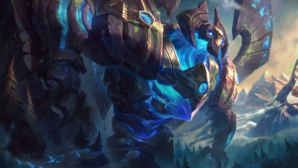 Enchanted Galio splash art