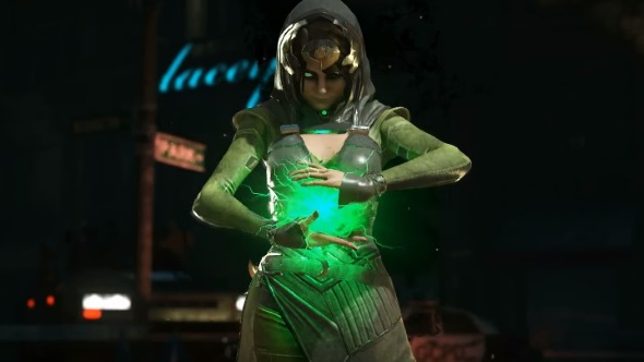 Injustice 2's Enchantress plays a mean, tricky defensive game in her gameplay debut trailer