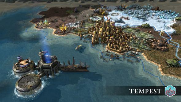 Endless Legend: Tempest borders