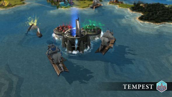 Endless Legend: Tempest fortresses