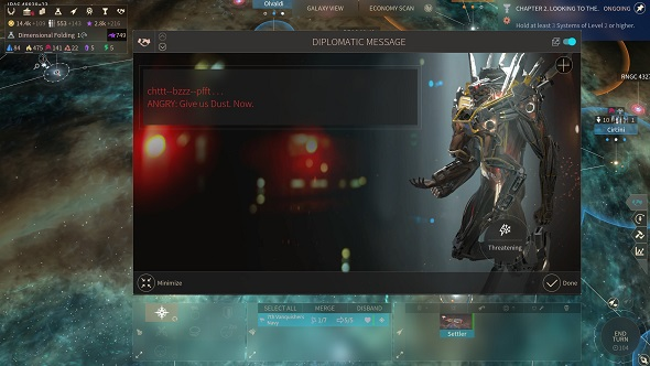 Endless Space 2 diplomacy