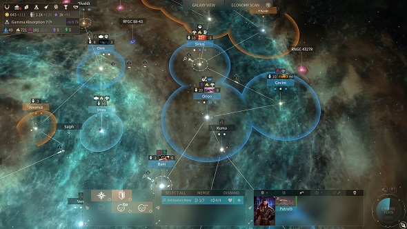 Endless Space 2 galaxy