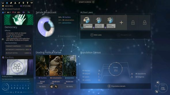 Endless Space 2 victory conditions