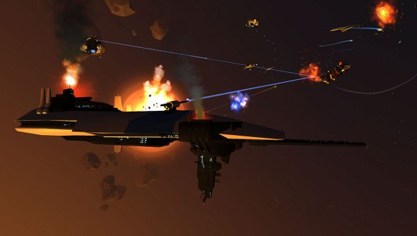Enemy Starfighter at PAX Prime
