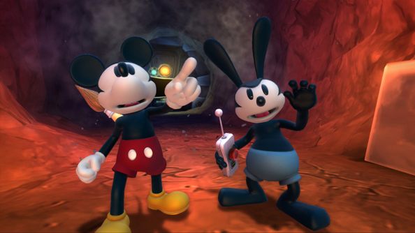 Epic Mickey 2: two is not always better than one.