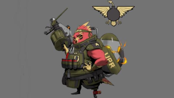 Gearbox reveals next Battleborn character is an angry bird, Ernest