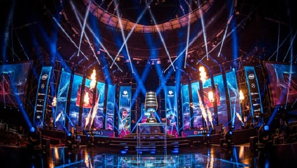 BBC Three will broadcast Dota 2 matches this weekend