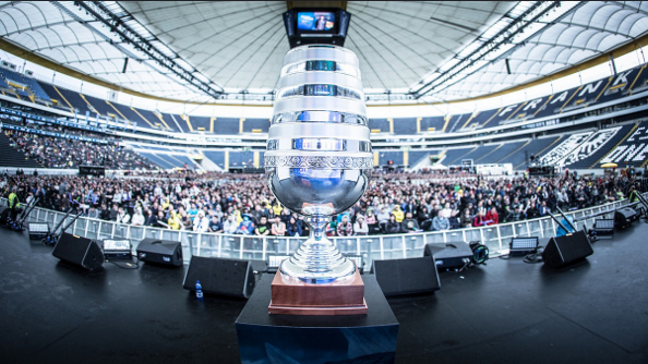 Dota 2 tournament ESL One Frankfurt had over 12,500 spectators in the arena each day